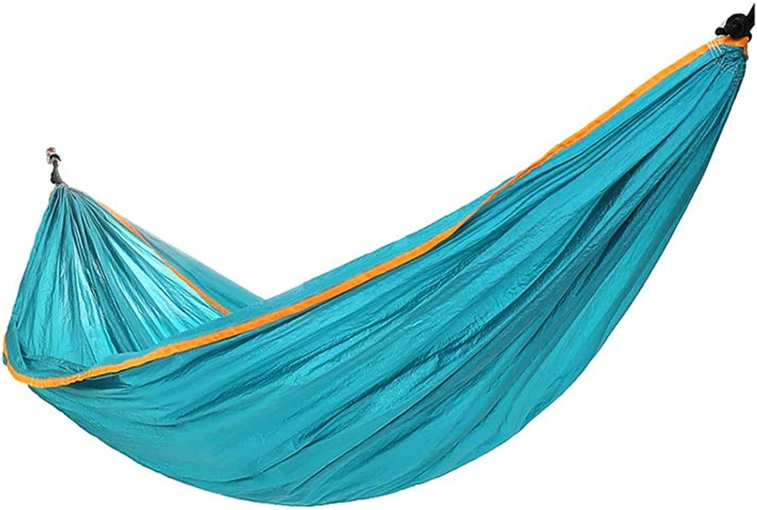 Hzpxsb Hammock - Multipurpose - Outdoor, Indoor, Travel, Beach, Garden, Camping - Swing Bed - Dormitory Swing - 260cmX140cm - Huse