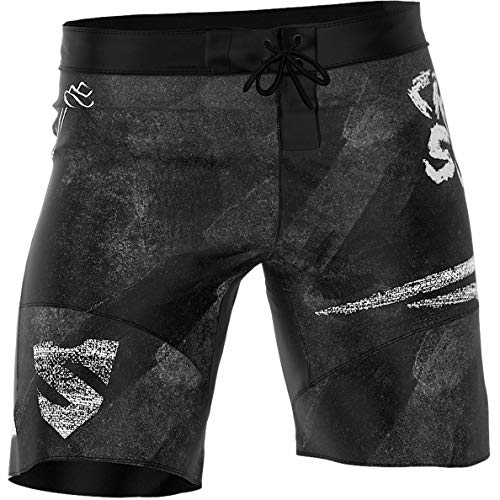 SMMASH Wodboard Pantalones Crossfit Cortos Hombre Deporte, Shorts Deportivos Hombre para Entrenamiento, Gimnasio, Jogging, Material Transpirable y Antibacteriano, (XXXL)