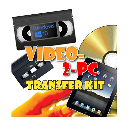 Video-2-PC DIY Video Capture Kit. For Windows 8.1, 8, 7,