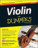 Violin For Dummies, Book Online Video & Audio Instruction by Katharine Rapoport (2015-03-30)