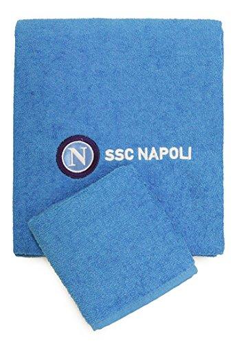 Set Spugna SSC Napoli Asciugamano + Ospite