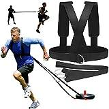 Sensensen - Arnés de trineo para entrenamiento de fuerza, entrenamiento de velocidad y agilidad, tamaño ajustable