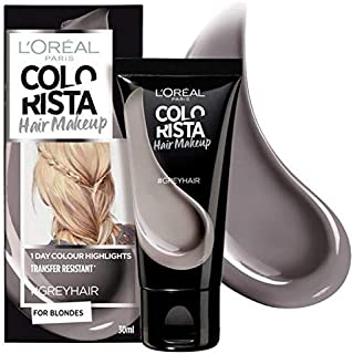 [Colorista] Coloristaヘアメイクグレーの一時的なブロンドの髪の色 - Colorista Hair Makeup Grey Temporary Blonde Hair Colour [並行輸入品]