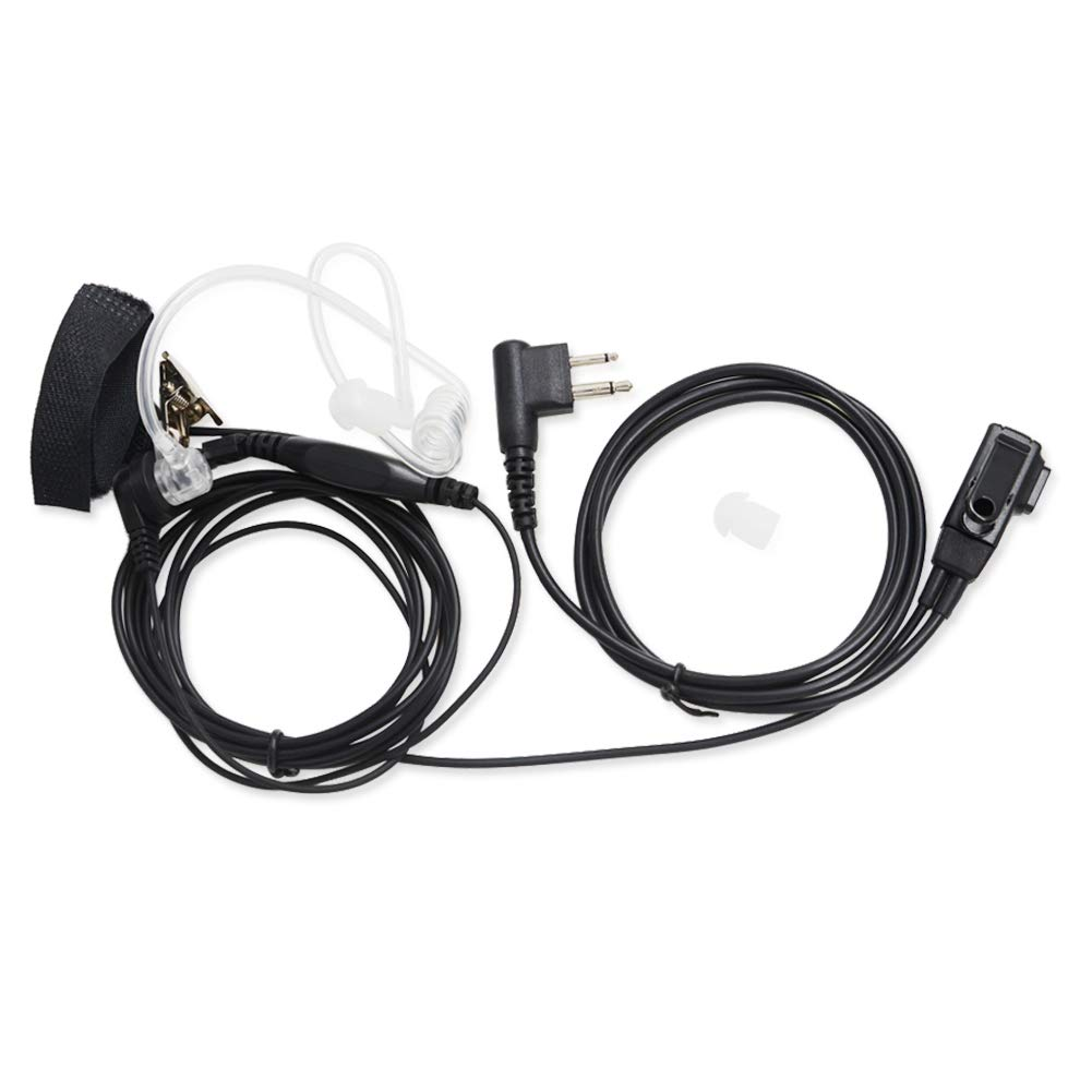 Covert Acoustic Earpiece Headset Motorola
