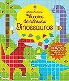 Dinossauros: Mosaico de adesivos