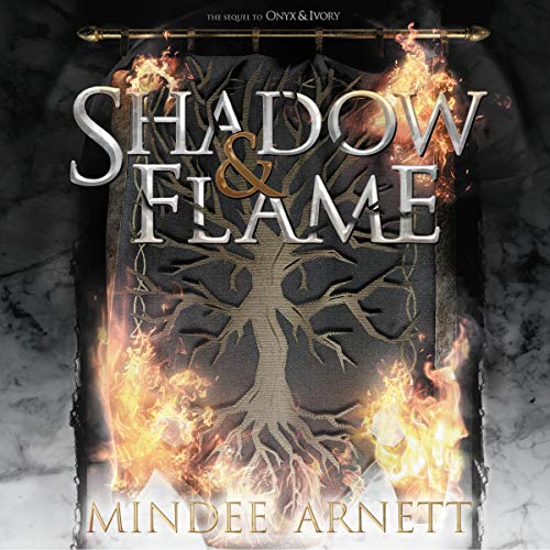 Shadow & Flame audiobook cover art