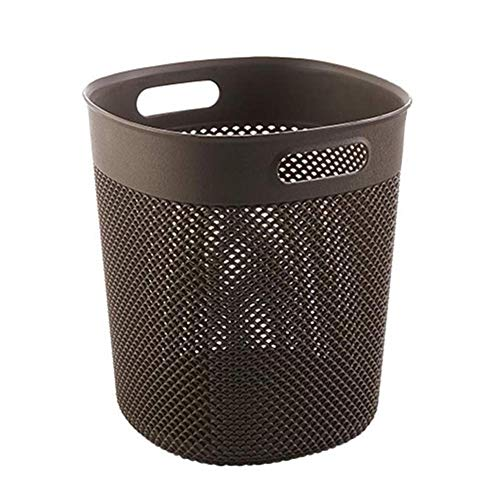 Affordable JFGX Plastic Waste Bin Large-Capacity Trash Can Garbage Bin Rubbish Recycling for Kitchen...