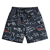 Men's Swim Trunks Quick Dry Board Shorts Bathing Suits Geek...