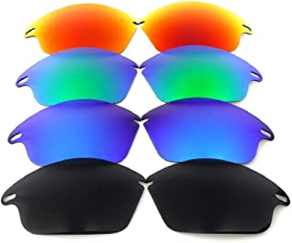 Galaxy Lenses For Oakley Fast Jacket Not For Fast Jacket XL Black/Blue/Green/Red Polarized,