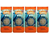 Organic Whole Grain Barley - 1Kg (Pack of 4 x 250g), Natural & Fiber-Rich Jau