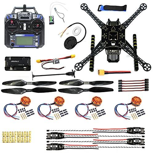QWinOut DIY FPV Drone ARF W/FS-I6 TX RX S600 4 axle Quadcopter APM 2.8 Flight Control GPS 7M 40A ESC 700kv Motor