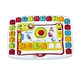 Chicco-Edu4You-Banco Escolar para Leer y Aprender, Multicolor...
