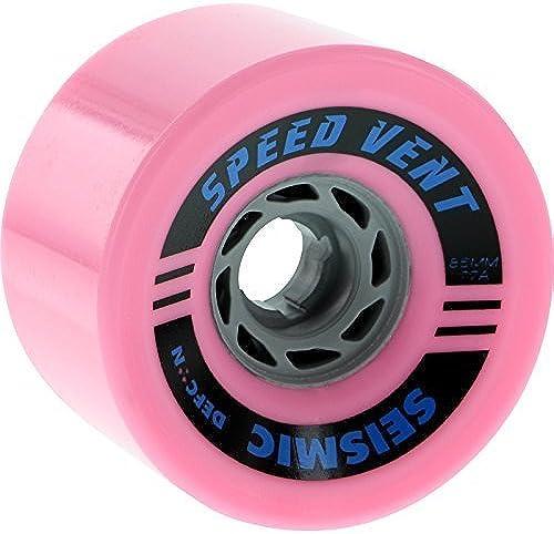 Seismic Speed Vent 85mm 77a Bubblegum Defcon Wheels (Set Of 4) by Seismic