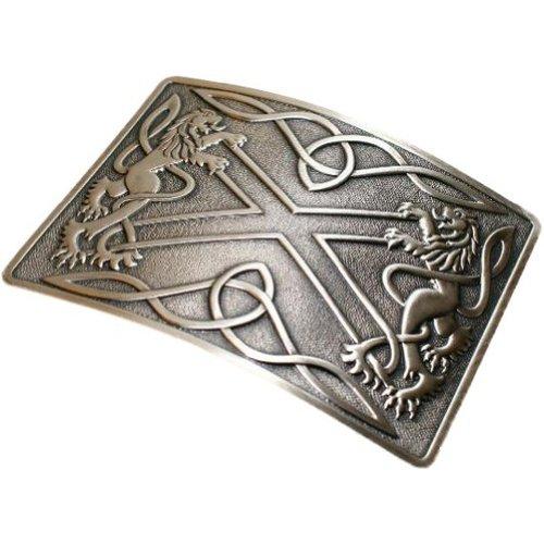 Glen Esk - Hebilla de cinturón para kilt escocés - Acabado