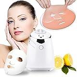 DIY Máscara Facial Máquina Automática Mascarilla Orgánica Natural con Colágeno de Frutas y Vegetales (32 pcs Tabletas de colágeno)