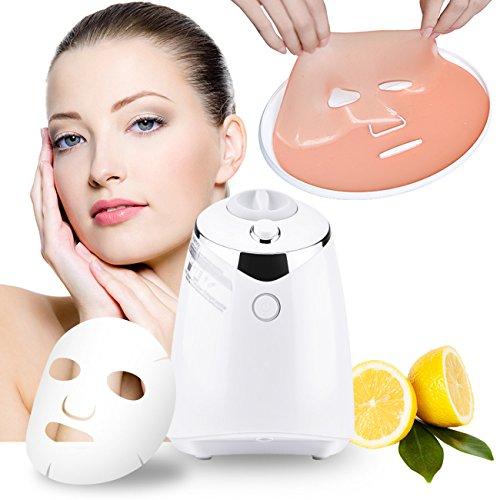 Gesichtsmaske Maschine, Automatische Organische Natürliche Frucht Gemüse Collagen Gesichtsmaske Maker Blatt Zu Hause DIY frische Schönheit Maske für die Entfernung Akne Haut Cleanser(White)