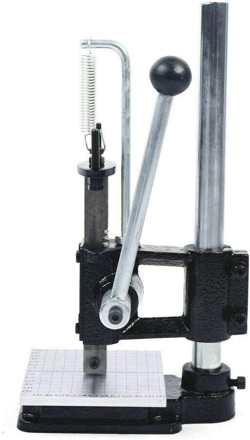 Ranking TOP6 Sales Leather Imprinting Machine Manual Stamp Embossing Press