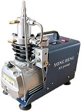 YONG HENG 4500PSI Air Compressor 110V PCP 30 MPa High Pressure System Rifle Inflator PCP Rifle Airgun Scuba Air Pump Portable Air Compressors (Simple Version)