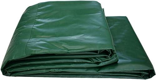 Bache extérieure épaisse et imperméable idéale pour bache de prougeection, bateau, couverture de camping ou de camping, toit, 520 g m2 (vert) (taille   4×6m)