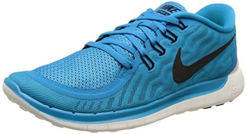 Nike Herren Free 5.0 Laufschuhe, Blau (Blau), 44 EU