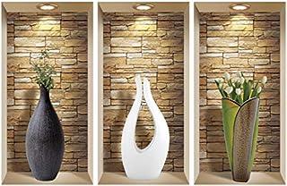 Mi Alma 3D Wall Art, Niche Sticker Set, 3D Wall Decor, Wall Decals Living Room, Wall Decals for Bedroom, Vinyl Wall Decals...