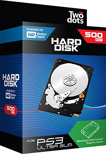 TWODOTS HARD DISK PS3 500 GB
