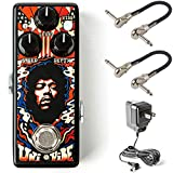 Dunlop MXR JHW3 Jimi Hendrix Uni-Vibe Chorus/Vibrato Mini Bundle with 2 MXR Patch Cables