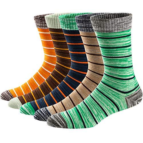 Ueither Calcetines Estampados para Hombre Casuales y Divertidos
