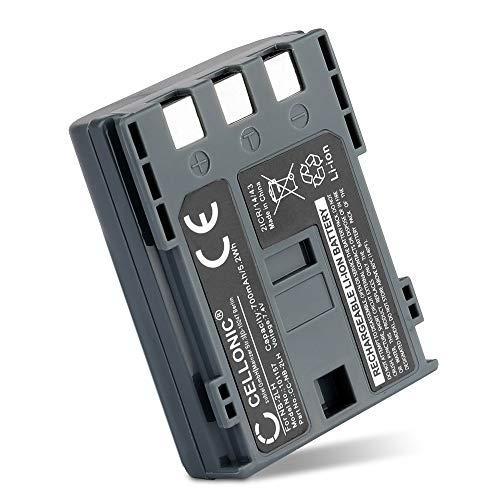 CELLONIC® Batería Compatible con Canon EOS 400D EOS 350D EOS Digital Regel XTi PowerShot G7 G9 S50 HG10 Legria HF R16 R106 MD235 VIXIA HV30 ZR800, NB-2L NB-2LH BP-2L5 700mAh Pila Bateria Repuesto