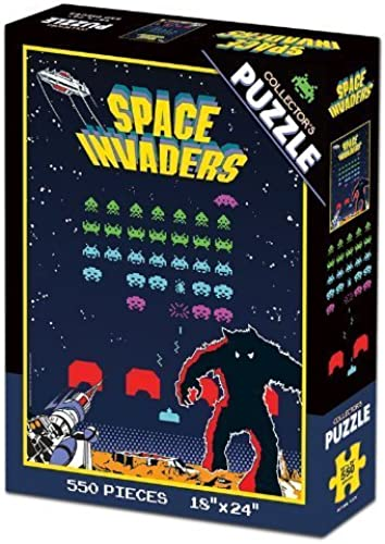 Space Invaders Collector's Puzzle by USAopoly