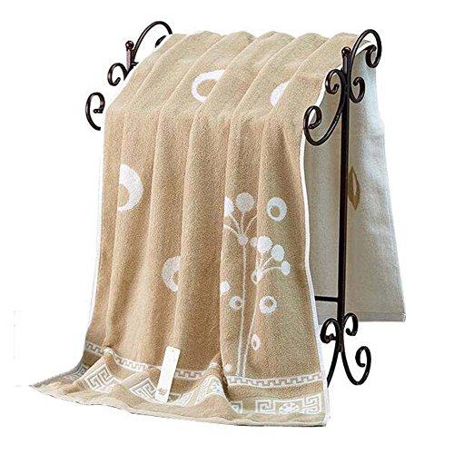 Koala Superstore Telo da bagno/bagno di lusso foglio/morbido cotone Lavabile in lavatrice tovagliolo...