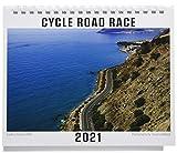ジェイスポーツ 卓上 CYCLE ROAD RACE 2021年 カレンダー 卓上 CL-578