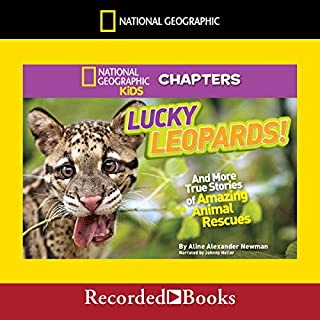 National Geographic Kids Chapters: Lucky Leopards audiobook cover art