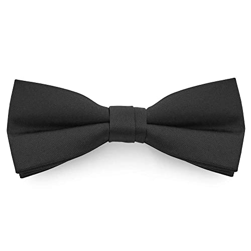 6c65dec9a84e8 TANGDA Men Solid Tuxedo Satin Polyester Bow Tie BowTies - 10 Colors  Available