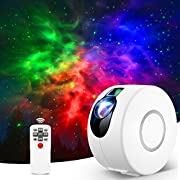 Star Projector, Star Sky Night Light Projector with Remote Control, LED Nebula Galaxy Projector for Kids Adults/Bedroom/Home Theater/Party/Room Decor/Night Light Ambiance