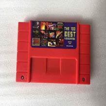 100 in 1 Game Cartridge 16 Bit SNES Game Card The 100 Best Video Games Cartridge Battery Save for snes game console