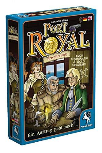 Pegasus Spiele 18141G - Port Royal Ein Auftrag geht noch (Erweiterung) &  Spiele 18114G - Port Royal