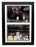 Encore Select 122-18 NBA Miami Heat Deluxe Frame LeBron James #6 Print, 12-Inch by 18-Inch