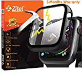 Zitel® Case Bumper Cover with Built-in 9H Tempered Glass Screen Protector Compatible
