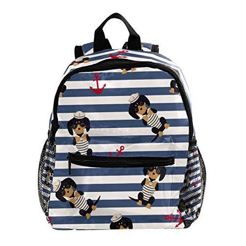 Mochila ligera para la escuela, mochila básica clásica informal para viajar con bolsillos laterales de botella, donuts
