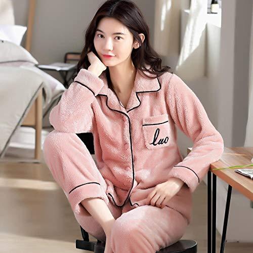 Bayrick Pijama Sexy Mujer Invierno,Pijamas Damas chándal de