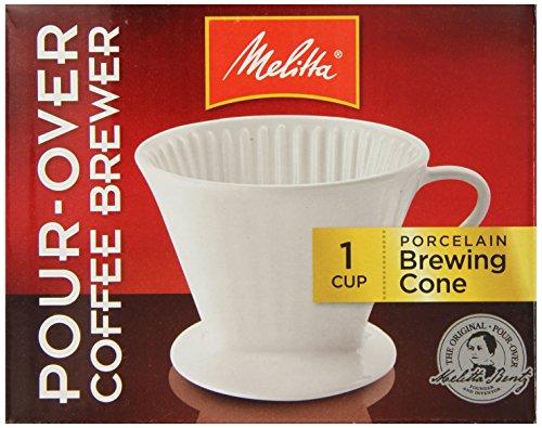 Melitta 64101 Porcelain #2 Cone Brewer