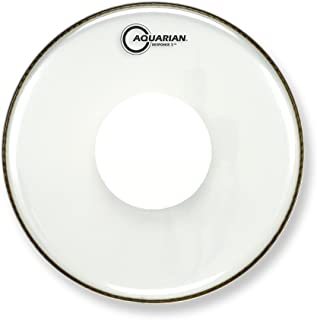 Aquarian Drumheads RSP2-PD15 Response 2 with Dot 15-inch Tom Tom Drum Head, with Dot