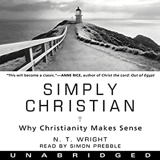 Simply Christian audiobook cover art