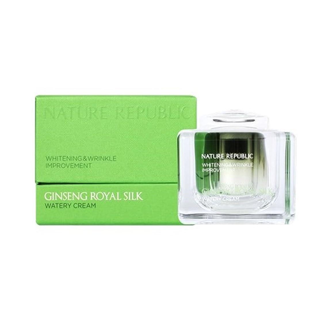 死すべき上流の批判的ネイチャーリパブリック(NATURE REPUBLIC)ジンセンロイヤルシルクウォトリクリーム 60ml NATURE REPUBLIC Ginseng Royal Silk Watery Cream 60ml [並行輸入品]