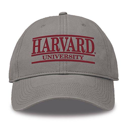 The Game Split Bar Design Trucker Mesh Hat, Gray, Adjustable, Harvard Crimson