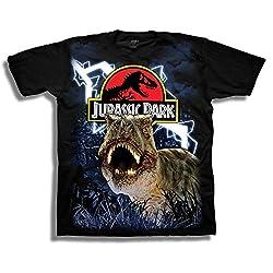 8. Jurassic Park Boys Short Sleeve Tshirt