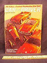1963 63 March CAR AND DRIVER Magazine (Features: Road Test on Alfa Romeo 1600, Austin Healey 3000, & Renault R-8 / R - 8, + AC Cobra, & South Africdan Grand Prix)