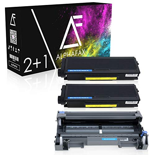 Alphafax 2 Toner + Trommel kompatibel für Brother TN-3170 DR-3100 DCP-8060 8065 DN HL-5200 5240 5250 5270 5280 DN DNLT L DN DNHY 2 TL MFC-8460 8670 8860 8870 DN N DW
