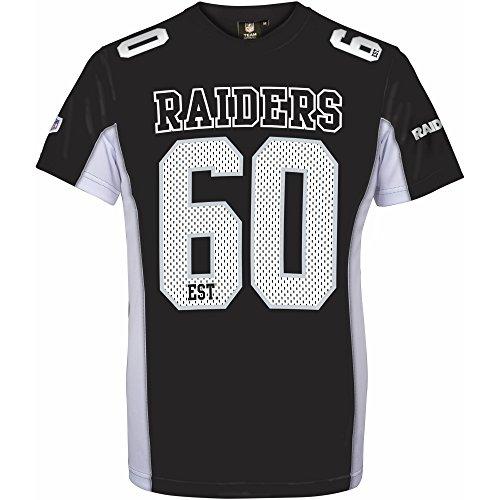 Majestic NFL OAKLAND RAIDERS Moro Mesh Jersey T-Shirt XL Black
